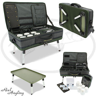 Carp Fishing Tackle Bivvy Table System 588 Carryall Bag NGT Rig Glug Storage NGT