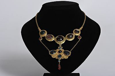Ancient necklace with Butterfly Pendant