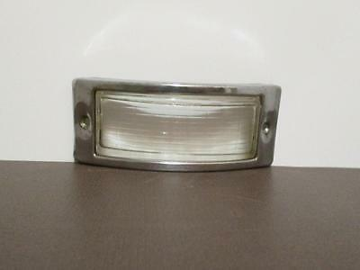 Ford truck grille park light glass lens and steel cover 1948 1949 1950