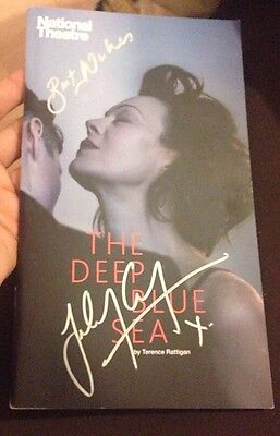 Helen McCrory Signed The Deep Blue Sea Theatre Programme Skyfall & Harry Potter