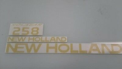 New Holland 258 Rake Decals