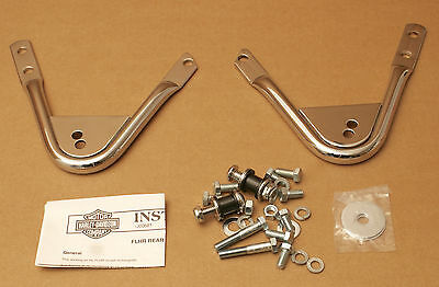 Harley Original Docking Set Sissy Bar Detachable Backrest Del Respaldo Road King