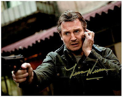 LIAM NEESON  Authentic Signed Autographed 8X10 Photo w/ COA - Photo 5