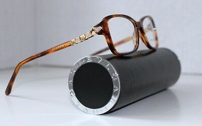 Bvlgari Optical Glasses 4090-B 816 Size 54/16 135 + Harde Case Made In Italy!!