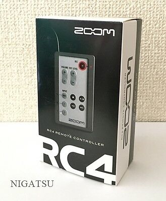 NEW ZOOM RC4 Remote Controller for H4n with tracking number from JAPAN