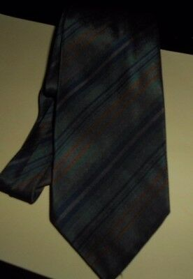 Vintage Italian Hand Made Silk Tie - Scabal, Milan & Paris