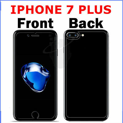 100% Genuine Tempered Glass Screen Protector Front & Back for iPhone 7 Plus