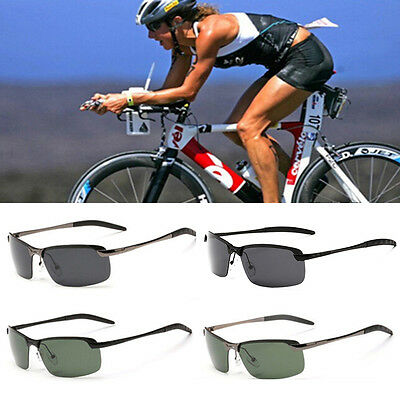 Mens Polarized Driving Cycling Goggles Outdoor Sports Sunglasses Glasses UV400