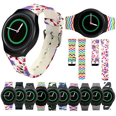 US Fitness Sport Silicone Watch Band For Samsung Galaxy Gear S2 SM-R720 R730 di