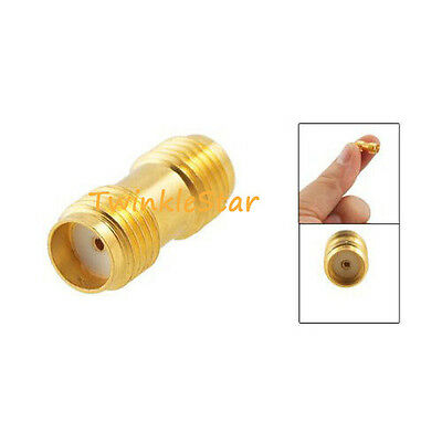 SMA Female to SMA Female Jack in Series Straight RF Coaxial Adapter Connector