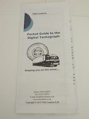 Drivers Guide to Digital Tachograph, HGV,PSV,PCV. User Guide Tachograph product