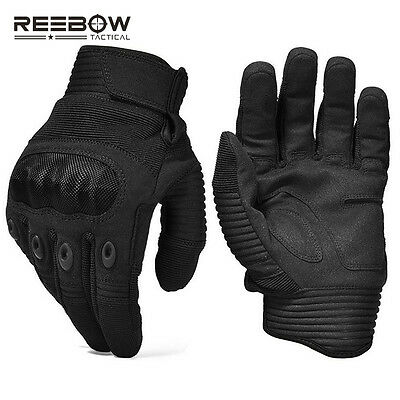 Army Military Hard Knuckle Tactical Combat Gloves for Airsoft Paintball Sports
