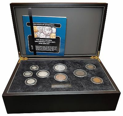 1887 The Queen Victoria Golden Jubilee 7 Silver Coins Set