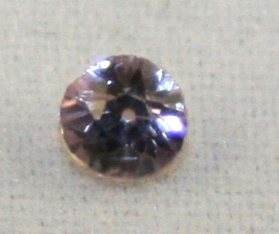 Natural White Sapphire Loose Gemstone 3Mm Faceted Round 0.1Ct Gem Sa20B