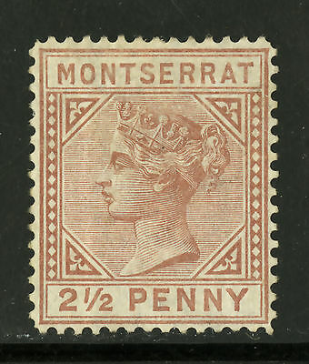 Montserrat   1880   Scott #  3   Mint Lightly Hinged