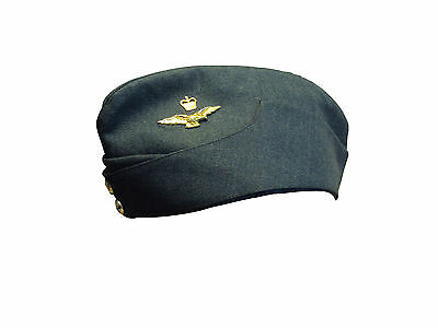 British Army -  Royal Air Force Forage Hat - Grade 1 - Size 55cm - SP493