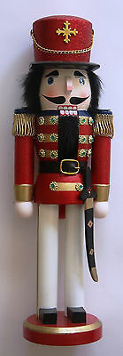 Kings Guard Holiday Nutcracker Red New Red and Green 14 inches