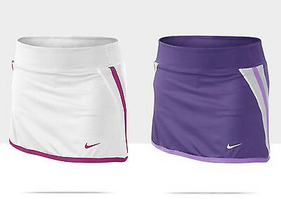 Nike Girls Youth Pre Teen Athletic Power Tennis Skirt with Shorts Skort 522103