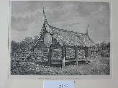 92192-Indonesien-Indonesia-Sumatra-Taboe Silago-T Holzstich-Wood engraving