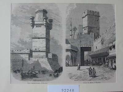 92248-Griechenland-Greece-Hellas-Rhodes-T Holzstich-Wood engraving