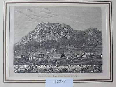 92277-Griechenland-Greece-Hellas-Corinth Korinth-T Holzstich-Wood engraving