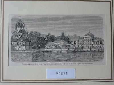 92321-Russland-Russia-Moskau-Moscow-Stoukine-T Holzstich-Wood engraving