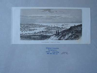 93606-Asien-Asia-China-Han-Keou-T Holzstich-Wood engraving