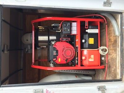 Hotsy Pressure Washer 130 hrs with 2012 Trailer