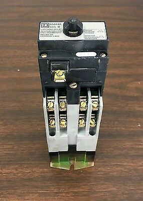 SQUARE D Latching Relay 8501XL NOS