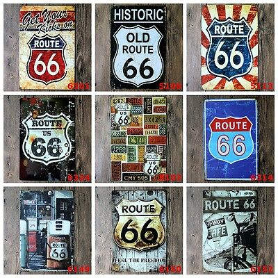 Metal Tin Signs Vintage Plaque Club Wall Decor Pub Bar Home Shop Poster Pictures