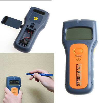 3 in 1 Multi Stud Scanner AC Live Wire Cable Wood Metal Wall Detector Finder New