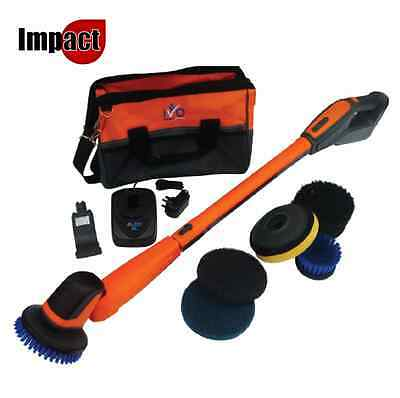 IVO Power Brush XL - Floor scrubber buffing cleaning machine cordless battery
