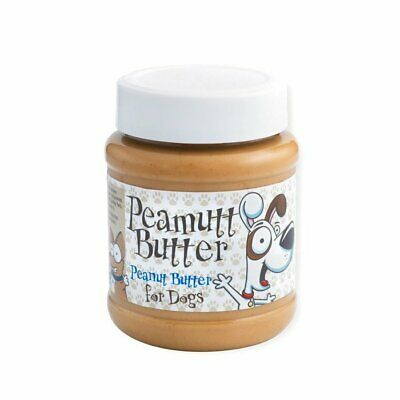 Peamutt Butter For Dogs 340g Peanut Butter Spreadable Treat for Dogs