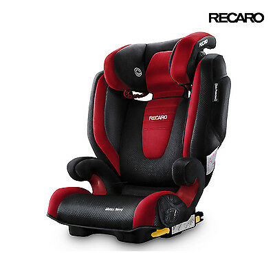 2016 Recaro Monza Nova 2 Seatfix Ruby Child Seat (33-80 lbs)
