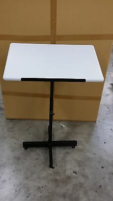 Brand New Adjustable Height Speaker Lectern Laptop - Tablet - Document Stand