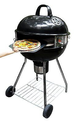 """PizzaQue Deluxe Kettle Grill Pizza Kit for 18"""" and 22.5"""" Kettle Grills PC7001"""
