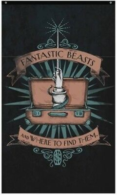 Harry Potter : FANTASTIC BEASTS & WHERE TO FIND THEM Wall Banner NEWT SCAMANDER