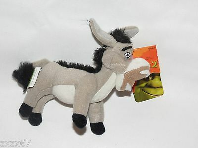 New Donkey Shrek 2 Plush Keychain Backpack Clip On Party Favors Supplies