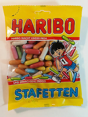 HARIBO STAFETTEN - CANDY WINE GUMS 7oz - 200g - MADE IN GERMANY -