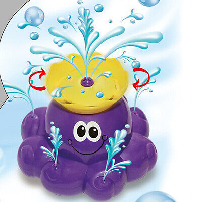 Spray Water Bath Beach Party Swimming Pool Toy Gift Kids Toddler - Octopus