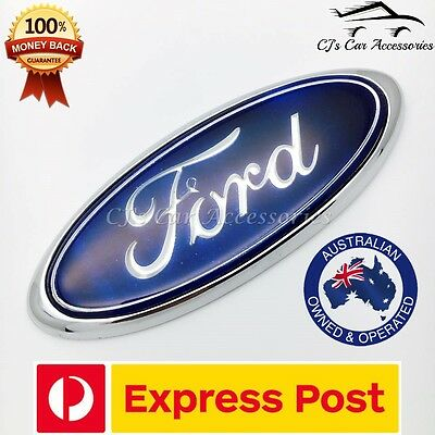 Ford Falcon blue oval 115mm boot badge BA BF
