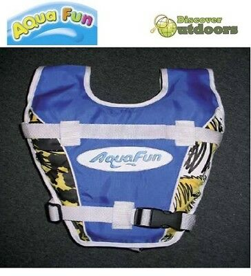 New AquaFun Pool & Surf Vest 2-3 Years - Beach Kids Safety Swimming Aid