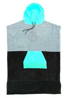 Ocean & Earth Adult Poncho Towel In Grey - For Changing In The Car Park