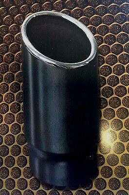 """21/2"""" (63mm) ANGEL CUT ROLLED IN CHROME EXHAUST TIP"""