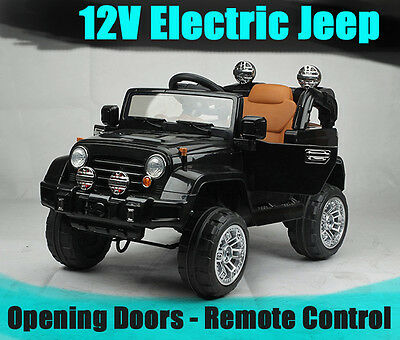 New 12V Jeep Electric ride on toy car remote control