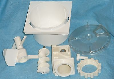 Simac PastaMatic 700 Pasta Maker Parts - Paddle Blade, Cover, Ring Nut, Auger