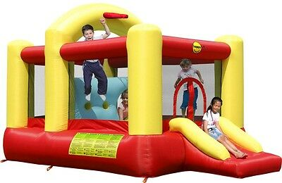 Multifunctional 14ft Bouncy Castle with Slide - Rideontoys4u