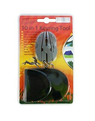 New  - Boyz Toys 10 In 1 Keyring Tool