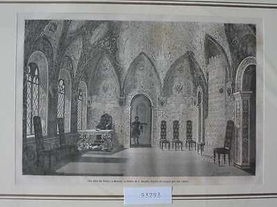 93293-Russland-Russia-Terem Moskau Moscow-T Holzstich-Wood engraving