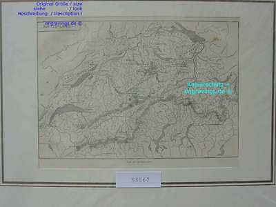 33567-Schweiz-Swiss-Switzerland-Karte-Map-T Holzstich-Wood engraving-1880